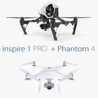2 1 dji phantom 3d model