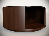 3d model of holly hill cocktail table