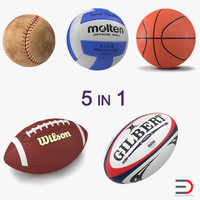 Sport Balls Collection 4