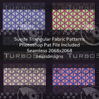 Suede Fabric Textures Triangular Pack