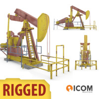 3d model oil extraction