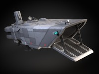 Star Wars Transporter - Atmospheric Assault Lander
