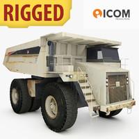 heavy hauler truck mining 3d max