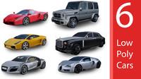 3d cars pack model