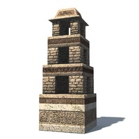 tower 3d max