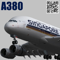 Airbus A380 Singapore Airlines 9V-SKH