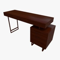 3d model of reception table