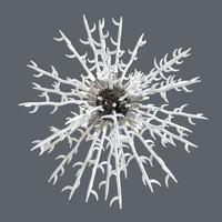 3d model chandelier 12 lights