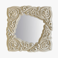 3d model of interior mirrors