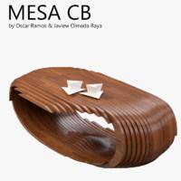 3d mesa cb coffee table