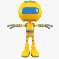 robot modelled max