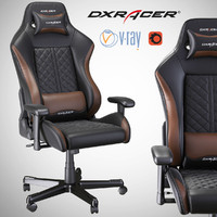 3d render dxracer oh df73 model