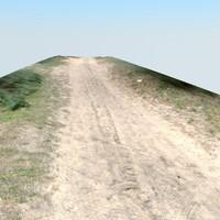 3d model scan road
