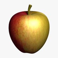 3d model apple 3