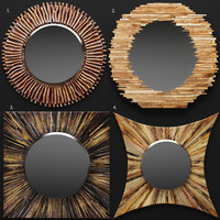 3d model mirrors wildon home