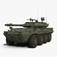 wheeled tank destroyer b1 3d 3ds
