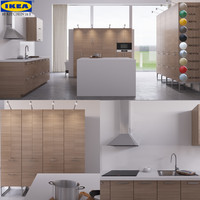 3d model of 10 kitchen ikea