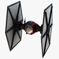 new tie fighter 3d model