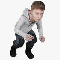 Young Boy Animated