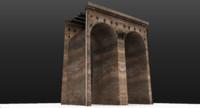 3d model viaduct segment