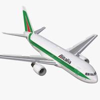 boeing 767-200 alitalia rigged max