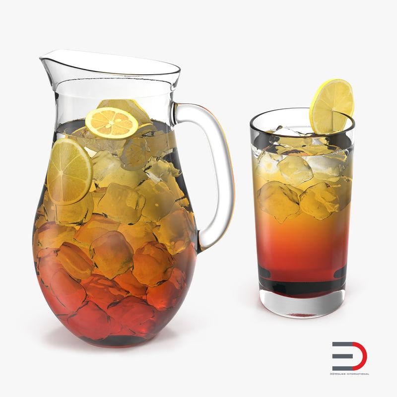 Iced Tea Collection 3d models 01.jpg