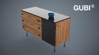gubi grossman dresser 3 3d model
