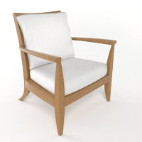3d model summit lg 303 lounge chair