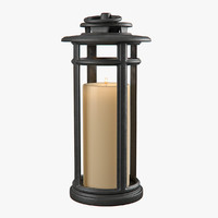 3d lantern lighting lamp model