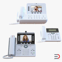 3d model cisco ip phones