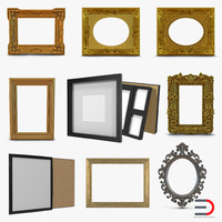 picture frames 2 3d max