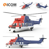 3d model chc helicopter