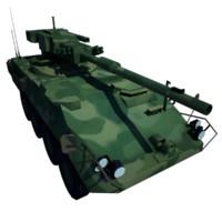 Stryker M1128 Stryker-MGS