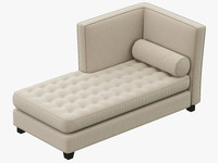 rh teen rylin tufted 3d max