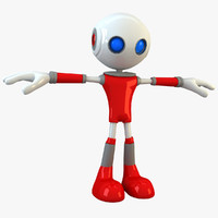 3d model robot modelled