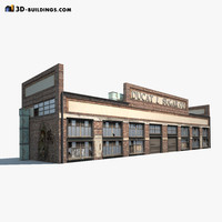 3ds warehouse building