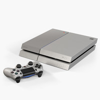 sony playstation 4 20th obj