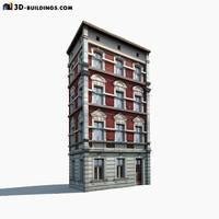 building exterior modelled 3d model