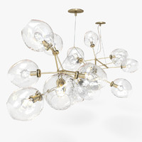 Lindsey Adelman 18-Globe Branching Bubble Chandelier(1)