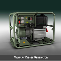 c4d generator diesel