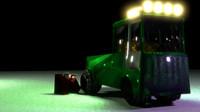 3d tractor truck model
