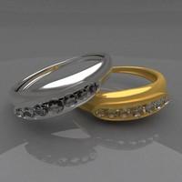 Golden & Silver diamond RINGS