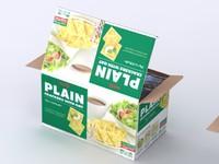 3d meiji cracker box model