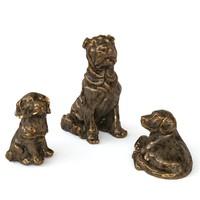 max 3 dogs statuette