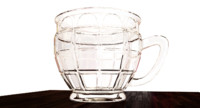 punch glass 3D models