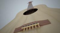 guitar 3d obj