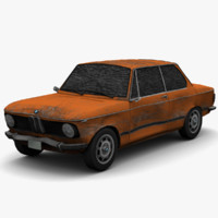 BMW 2002 - Damage Version - Game Ready
