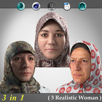 3 in 1 ( Realistic Weman )