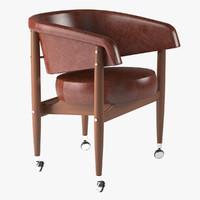 3d model armchair beg linbrasil