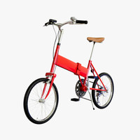mini bicycle cycle 3d max